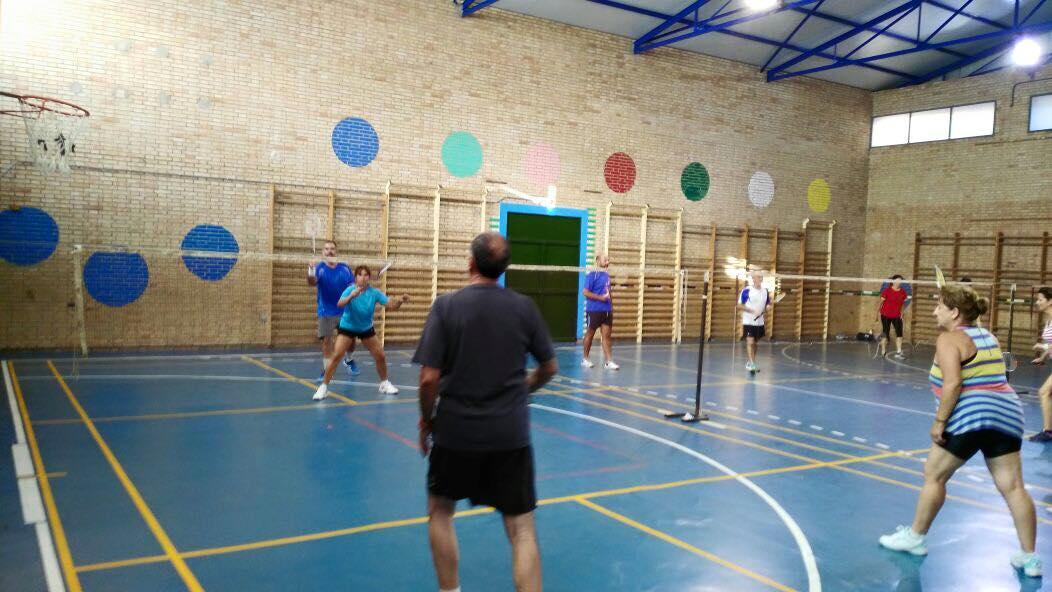 Alquiler pista de Badminton Jorge Guillen