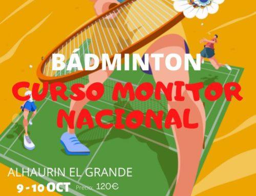 CURSO DE MONITOR EN ALHAURIN EL GRANDE